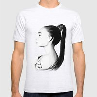Ashley Moore  Mens Fitted Tee Ash Grey SMALL