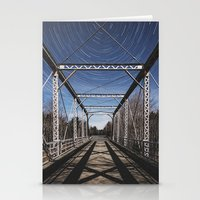 Symmetry in Motion Stationery Cards