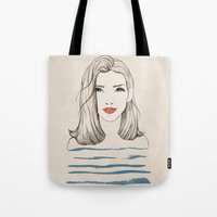 Sea girl Tote Bag