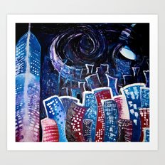Todays' 'Starry Starry Night' Art Print