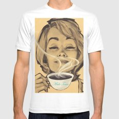 Male Tears SMALL White Mens Fitted Tee