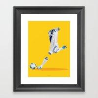LA Galaxy 2012/13 Framed Art Print