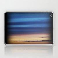 Blue Streaky Clouds Laptop & iPad Skin