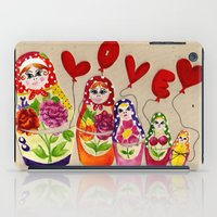 From Russia with Love Russian Dolls iPad Case