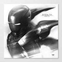 Mark 7 Stealth Canvas Print
