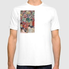 Hummel Funnel Mens Fitted Tee SMALL White