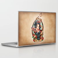 kiss Laptop & iPad Skins featuring Waiting For Loves True Kiss by Tim Shumate