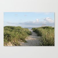 10 Steps To Paradise Canvas Print
