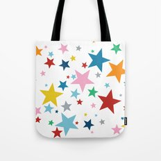 Stars Small Tote Bag