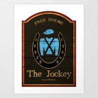 The Jockey - Shameless Art Print