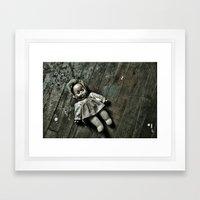 Betty Bonnett Slumber Framed Art Print
