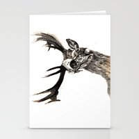 Stationery Card featuring Life and Death by Jonathan Sundaram