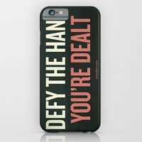 Defy the Hand You're Dealt iPhone 6 Slim Case