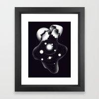 Cosmic Egg Shell Framed Art Print