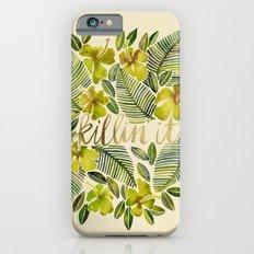 Killin' It – Tropical Yellow iPhone 6 Slim Case