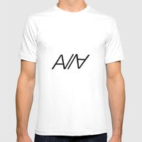 ABRCWESOME Mens Fitted Tee White SMALL