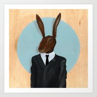 David Lynch | Rabbit Art Print
