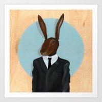 David Lynch | Rabbit Art Print