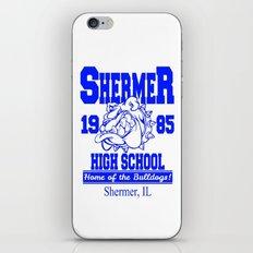 The Breakfast Club  |  Shermer High School Logo  |  John Hughes Universe iPhone & iPod Skin