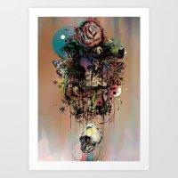 Fauna And Flora Art Print