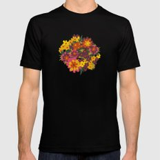 Flowers For Lola Mens Fitted Tee Black SMALL