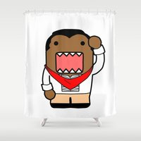 Domo Bonifacio Shower Curtain