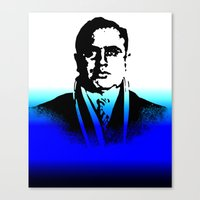 Al Capone, BLUE BEAT  Canvas Print