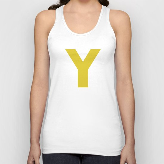 Y is for... Unisex Tank Top