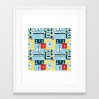 Come Sail Away (Centered) Framed Art Print