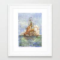 la Citta' Galleggiante Framed Art Print