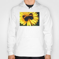 Butterfly on yellow Hoody