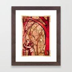 As You Like It - Shakespeare Romance Folio Illustration Framed Art Print