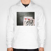 King And Queen Of Hearts Hoody