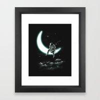 The Moon Song Framed Art Print
