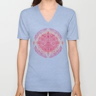 Happy Place Doodle In Be… Unisex V-Neck