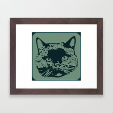 cathead 2b Framed Art Print