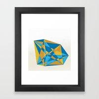 A New Geometry Framed Art Print