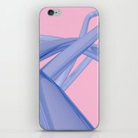 Purple Chrome iPhone & iPod Skin