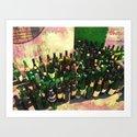Bottles 2 Art Print
