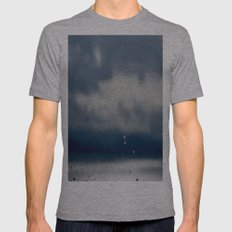 The Sky Resting on Water Mens Fitted Tee Athletic Grey SMALL