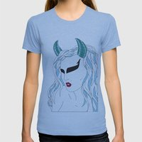 Taurus / 12 Signs Of The… Womens Fitted Tee Athletic Blue SMALL