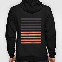 Black Strips Hoody