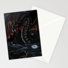 Sea Serpent - Bakunawa Stationery Cards