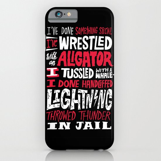Muhammad Ali: Aligator iPhone & iPod Case