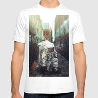Alley Mens Fitted Tee White SMALL