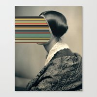 Unidentified Woman / Hyp… Canvas Print