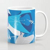 Blue Bam Boom Mug