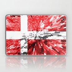 Denmark Flag - Extrude Laptop & iPad Skin