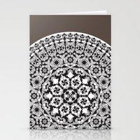 Khatem Rosette 005 | Coffee Stationery Cards