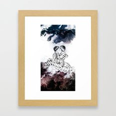 Knife Bearing Diamond Thieves Framed Art Print